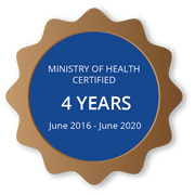 Ministry of Health Certification
